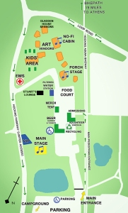 Nelso Music FestivalMap