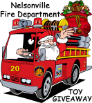 NFD santa-on-fire-truck